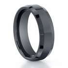 BENCHMARK Seranite Black Ceramic Ring