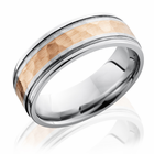 Cobalt Ring With 14K Rose Gold by Lashbrook