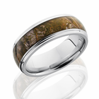 Cobalt Ring With Kings Mountain Camo Inlay by Lashbrook
