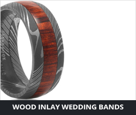 Custom Hardwood Rings & Wedding Bands