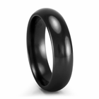 EDWARD MIRELL Black Titanium Comfort Fit Band