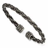 Edward Mirell  Titanium Cable Bracelet - THORN Collection