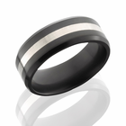 ARES - Sterling Elysium Black Diamond Wedding Band