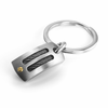 EM SPORT Key Ring - Titanium, Black Titanium  & 18K Gold