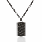 FALCOR  Black Stainless Steel Necklace