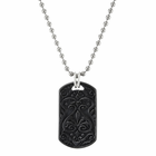 HERITAGE Black Titanium Dog Tag by Edward Mirell