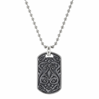 HERITAGE Grey Titanium Dog Tag by Edward Mirell