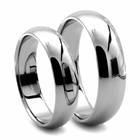 His and Hers CLASSICO Tungsten Ring Set