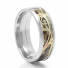 LASHBROOK DESIGNS Cobalt & Camo Wedding Band MAX-4