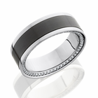 ETERNITY Platinum Diamond and ELYSIUM Eternity Wedding Band by Lashbrook
