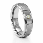 MANDOR Tungsten Diamond Ring by TRITON