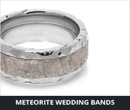 Meteorite Rings by Lashbrook Designs