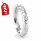 SAFARI Sterling Silver 4mm Band