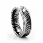 Timoku 6mm Concave Wedding Band