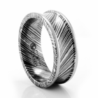 Timoku 8mm Concave Wedding Band