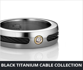 Titanium Cable Jewelry Collection