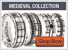 Triton Sterling Silver Rings and Wedding Bands