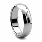 Tungsten Wedding Band - CLASSICO by J.R. YATES