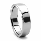 Tungsten Wedding Band - PIATTO by J.R. YATES