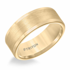 Yellow Tungsten 8mm Flat Ring by Triton