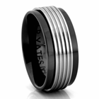 ZURNOV Tungsten Carbide Ring by J.R. YATES