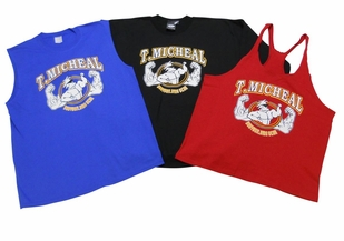 T. Micheal 3 Pack- 1 Stringer Tank Top, 1 Muscle Shirt, 1 Big Top - Style 107Pack