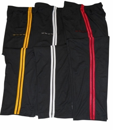 New- Gold's Gym Double Striped Pants- Style GGXDK
