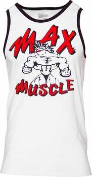 Max Muscle Throwback Ringer Athete Tank Top