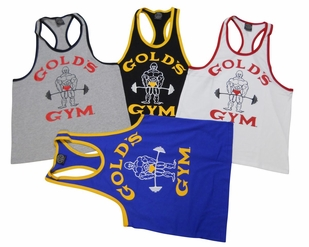 "Gold's Gym ""Old Joe"" Ringer Tank Top- #RT- 2"