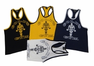 Gold's Gym Classic Logo Ringer Tank Top- #RT- 1