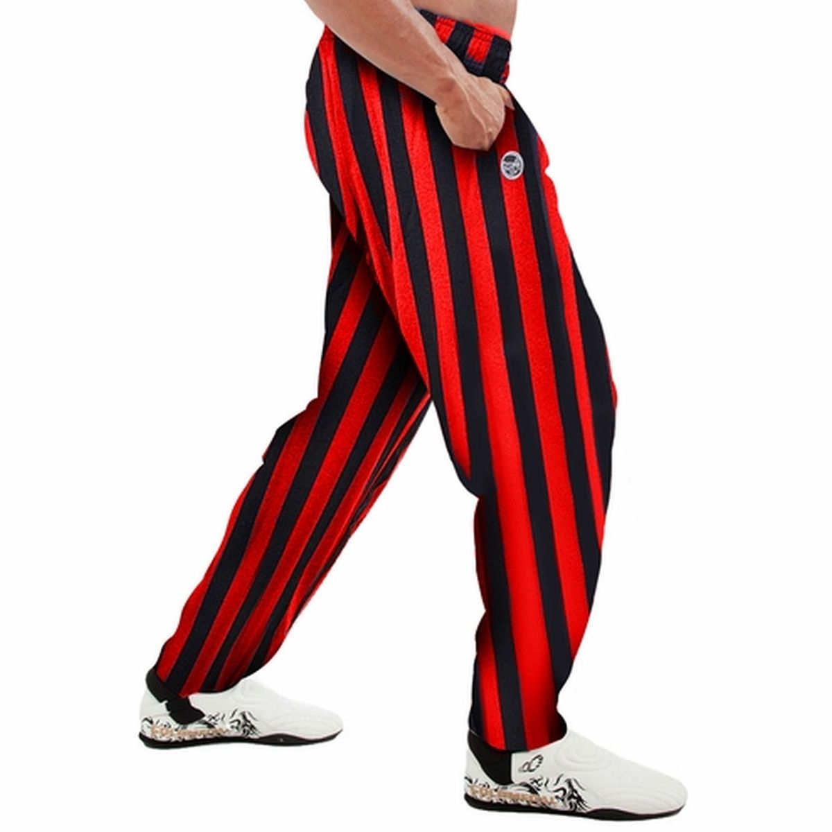 S Red Striped Gym Clothes