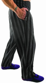 New- Otomix Charcoal Stripe Bodybuilding Baggy Pant