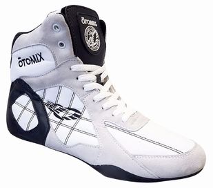 New- Otomix White/Black Ninja Warrior Bodybuilding Combat Shoe-M/F3333NEW