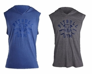 New- PitBull Barbells Sleeveless Lightweight Hoodie