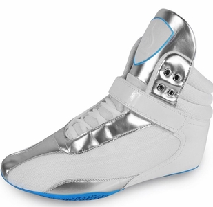 New- Ryderwear Raptors G-Force Performance Shoes- White Ice