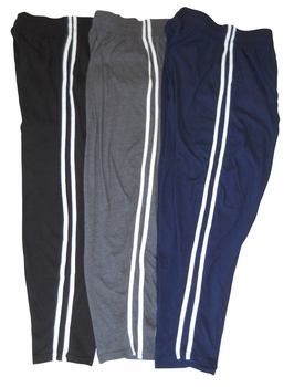 New- T. Micheal Double Stripped Baggy Pants #912- Factory Direct