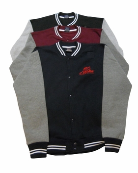 New- T. Micheal Fleece Varsity Jacket