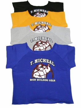 T. Micheal Work Out Top- #101A- Factory Direct