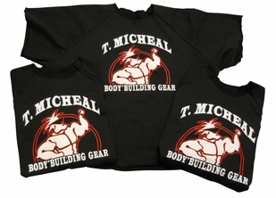 T. Micheal French Terry Work Out Top- #102A- Factory Direct