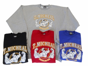 T. Micheal Printed Big Top Shirt # 107- Factory Direct