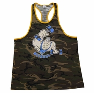 New- T. Micheal Ringer Camo Tank Top- Style 112B- Factory Direct