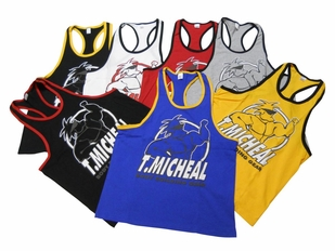 T. Micheal Ringer Tank Top- Style 101BR- Factory Direct