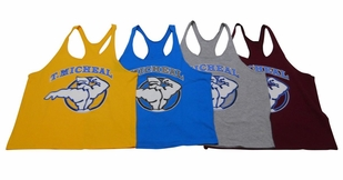 "New- T. Micheal ""Sammy Surfer"" Stringer Tank Top- Style 111B- Factory Direct"