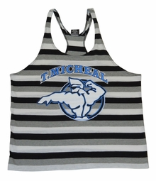 "New-T. Micheal ""Sammy Surfer"" Striped Stringer Tank Tops- Style 106B- Factory Direct"