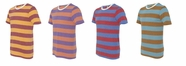 New- Ugly Stripe Crewneck T-Shirt