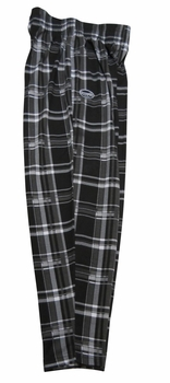 Otomix Work Out Pants- Black & White Plaid