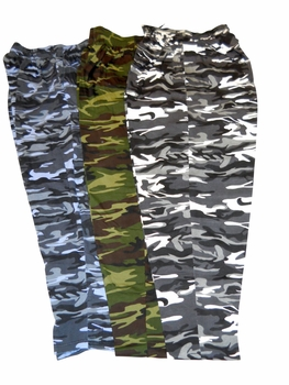 T. Micheal 3 Pack Camo Baggy Pants- Style 916A- Factory Direct