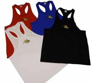 T. Micheal Embroidered Y- Back Stringer Tank Top # 204B- Factory Direct