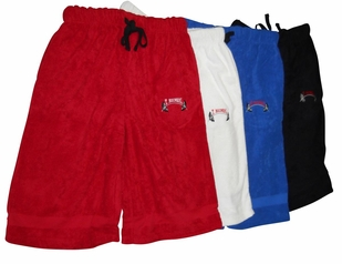 New- T Micheal Embroidered Baggy Work Out Shorts # 00946
