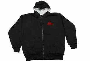 T. Micheal Heavyweight Sherpa Lined Full Zipped Hoodie